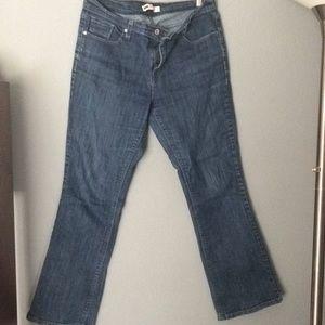 Levi 515 bootcut size 10 women's jeans
